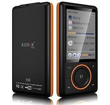 Kubik Evo 8GB MP3 Player with Radio and Expandable MicroSD/SDHC Slot Black NEW