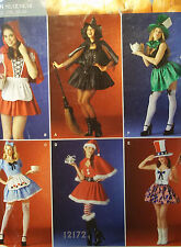 NEW PATTERN 6 COSTUMES & HATS SIZE 10 12 14 16