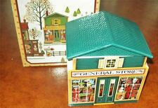"Avon 1982 Country Christmas ""McConnell's Corners General Store"" BOX TOWN VILLAGE"