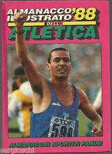 ALMANACCO ILLUSTRATO DELL'ATLETICA 88 - 1988  - ED. PANINI - CARTONATO  OTTIMO