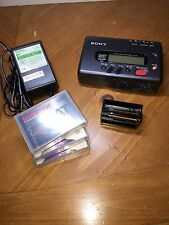Sony TCD-D7 Walkman DAT Recorder With Extras Working Serviced Minty