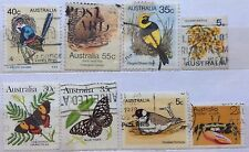 Australia Used Stamps - 8 pcs Assorted Stamps (A)