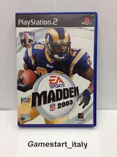 MADDEN NFL 2003 PS2 FOOTBALL AMERICANO - VIDEOGIOCO USATO IN OTTIME CONDIZIONI