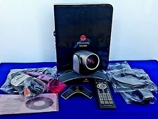 Polycom HDX 8000 Video Conference Sys With MPTZ-6 Camera, micrphone, and Cables