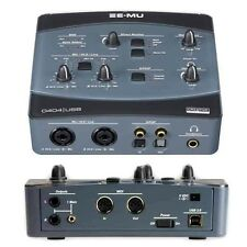 E-MU 0404 USB2.0 Audio/MIDI Interface - E MU Sound Card + extras