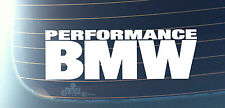 PERFORMANCE BMW Car Decal Sticker Series1,3,5 M3 M5 E30 E34 E36 E38 E39 E46(M002