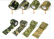 5X New Outdoor Hunting Camping Camo Rifle/Gun Wrap Decor Camouflage Stealth Tape