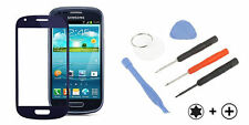 Samsung Galaxy s3 SIII mini Front Glass panel disco pantalla vidrio azul