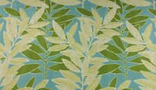 RICHLOOM EASTBLUFF SEASPRAY LEAF VINE OUTDOOR FURNITURE FABRIC BY THE YARD