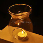 Glass Stand Hanging Candlestick Scented Oil Burner Warmer Stove Candle Holder
