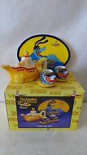 The Beatles 2000 Vandor Yellow Submarine Mini Tea Set MIB #H881.
