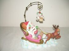 DREAMSICLES Porcelain Figurine GUIDE MY SLEIGH 20119 NEW 2002