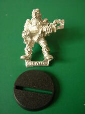 40K Imperial Guard  Imprium Adeptus Mechanicus Servitor with Wrench Rare