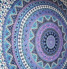 Large Indian Mandala Tapestry Hippie Hippy Wall Hanging Throw Bedspread Dorm ,