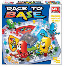 M.Y Traditional Race to Base Full Family Fun Racing Board Game Perfect Xmas Gift