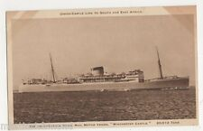 Union Castle Royal Mail Motor Vessel Winchester Castle Shipping Postcard, B436