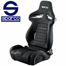 SPARCO TUNER RACING BLACK SEAT R333 FORZA 00965NR