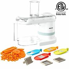 Power Dicer Plus 5 in 1 Electric Mandoline Food Processor Free Shipping New
