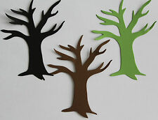 TALL LARGE BARE TREE SCRAPBOOK DIE CUT! PERFECT FALL AUTUMN WINTER CHRISTMAS!