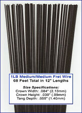 Great Deal on Bulk Guitar Frets/Fret Wire - 1lb Medium/Medium Gauge 11-02-01