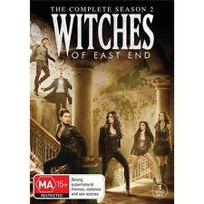 WITCHES OF EAST END-Season 2-Region 4-New AND Sealed-3 Disc Set-TV Series