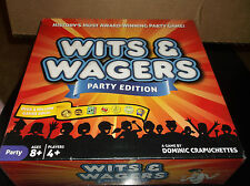 WITS & WAGERS  Party Edition  8+  boys & girls   2015  #NSG-125 nORTH sTAR GAMES