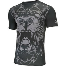 under armour hg alter ego mens compression short sleeve shirt beast lion large