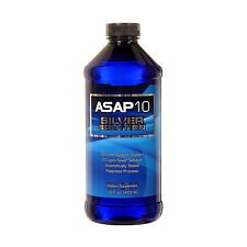 ASAP Silver Solution IMMUNE SYSTEM SUPPORT 16 oz 10 PPM Silver Technology!