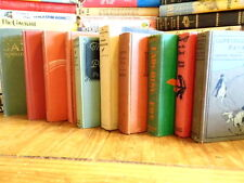 """LOT OF 10 RARE VINTAGE COLLECTIBLE HARD TO FIND """"UNSORTED MIX"""" HARDBACK BOOKS"""