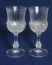 Beautiful Pair of Crysral Wine Glasses.
