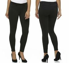 New Attention Womens Size XL 16/18 Black Stretch Skinny Jeggings Dress Pants NWT