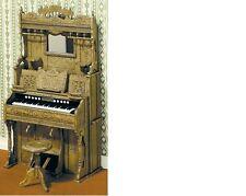 Dollhouse Miniatures 1:12 Scale Pump Organ Kit Item #CB2110