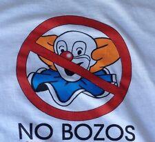 EVH Van Halen No Bozos Clown 5150 retro T-Shirt L,XL,XXL