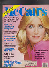 McCall's Magazine Suzanne Somers Charlie Chaplin  March 1976