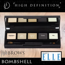 High Definition/HD Brows Eye Shadow + Brow Enhancement Makeup Palette *BOMBSHELL