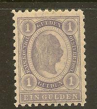 AUSTRIA : 1896 1 gulden  lilac  SG 105 mint