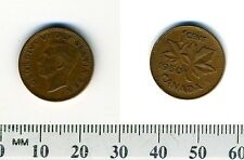 Canada 1950 - 1 Cent Bronze Coin - King George VI