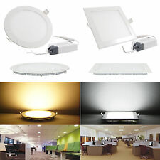 6W Non_ Dimmable Recessed Ceiling Panel LED Light Bulb Lamp Warm white Indoor