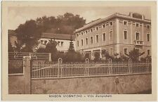 MASON VICENTINO - VILLA ZAMPICHELLI (VICENZA) 1931