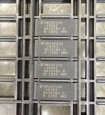 x8 **NEW** AMD AM28F020-150EI, NOR Flash, 256K x 8, 32 Pin, Plastic, PLCC