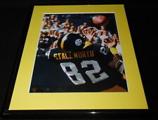 John Stallworth Over the Shoulder Catch Framed 11x14 Photo Display Steelers