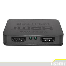 3D Mini 2 Port HDMI Splitter Switcher 1x2 1 in 2 out HDMI Distributor Splitter