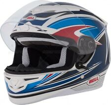 NEW BELL RS1 SERVO BLUE RS-1 MOTORCYCLE HELMET SIZE LARGE SNELL 2010