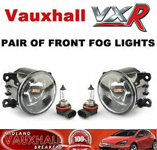 Vauxhall VXR COPPIA FENDINEBBIA LUCI ASTRA H CORSA D VECTRA C ZAFIRA B OPC