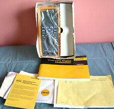 Fluke 189 II True RMD Multimeter with Manual and Lead Cables - Mint