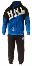 MENS FLEECE JOGGING HOODED TRACKSUIT BOTTOMS TROUSERS SIZE S M L XL
