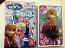 Brand New MORRISONS Disney Frozen Happy Families Playing Cards. Sealed