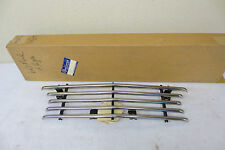 NOS 1960 FORD GALAXIE FAIRLANE 4 HEADLIGHT CAL CUSTOM HALF TUBE GRILLE GRILL