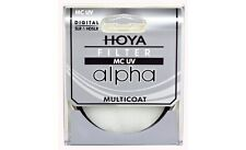 Hoya 82mm ALPHA UV HMC Multi-Coated Glass Filter - Brand New