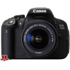 Canon EOS 700D / T5I Rebel DSLR Camera + 18-55mm STM Lens